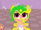 My Pocket Pony giving the pony a shower