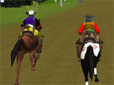 Horse Riding: Simulator 2 intense race