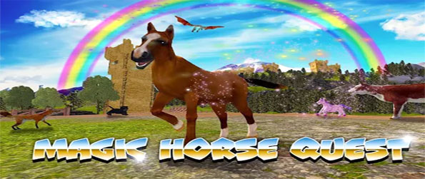 Magic Horse Quest - Immerse yourself in this exciting horse riding game that's filled with exciting moments.