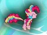 My Little Pony Rainbow Runners using powers