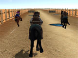Texas World Horse Race 3D intense race