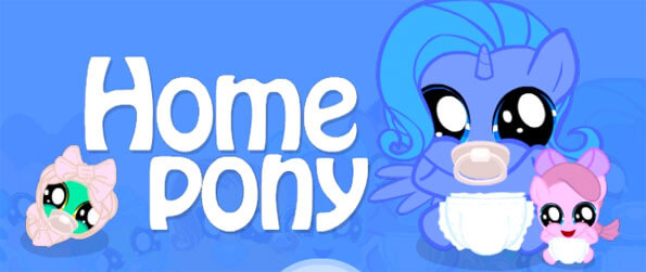 Home Pony - Take care of your very own pony in this fun filled simulation game that doesn't disappoint.