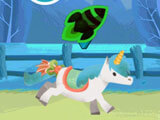 Collect and use power-ups in My Pony Race