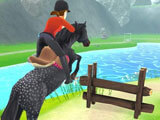 Gameplay in My Riding Stables - Life with Horses