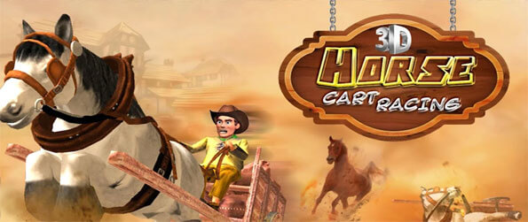 3D Horse Cart Racing - Enjoy this unique and exciting horse racing game that's definitely unlike all others out there.