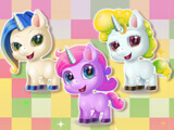 Choose a unicorn in Cute Unicorn Care