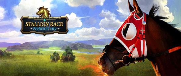 Stallion Race - Race your best horses as you train and prepare them for running in this new Facebook Game.