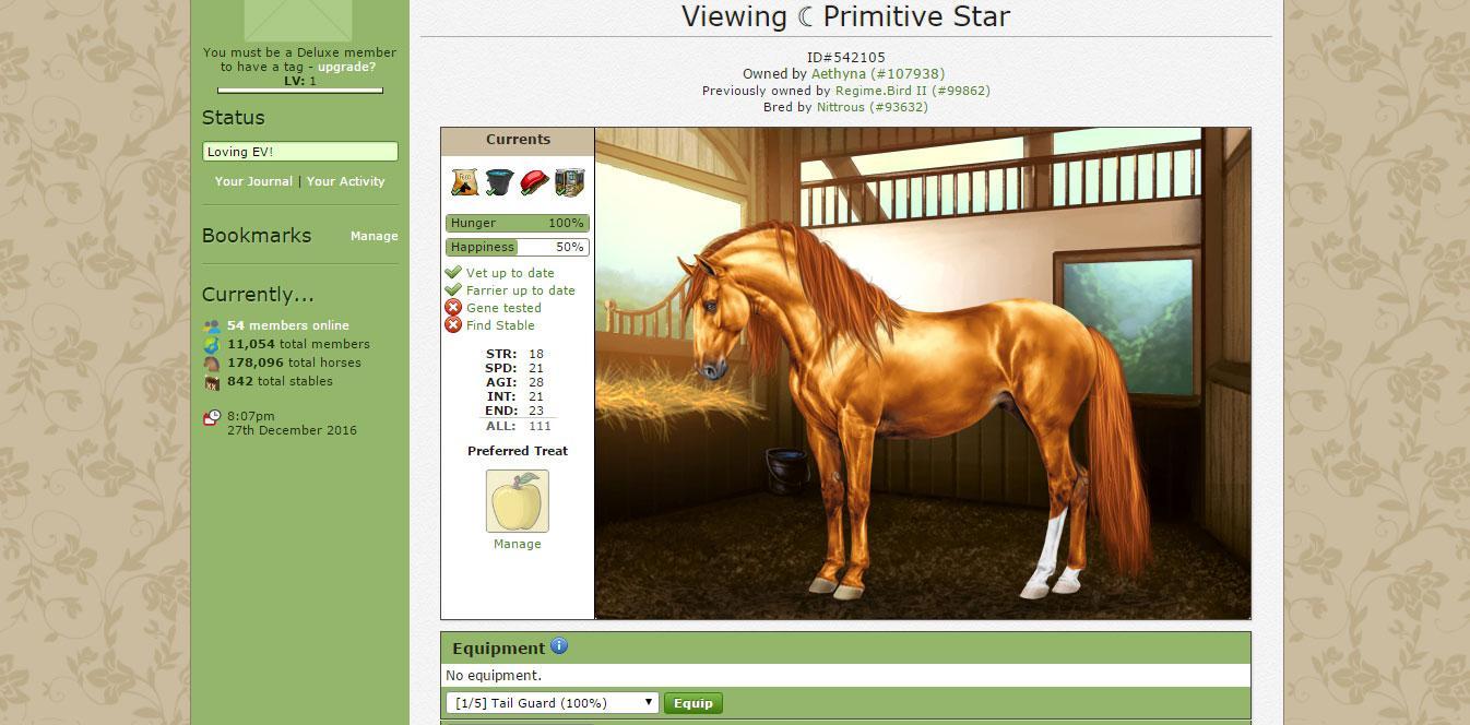Browsergames Pferde