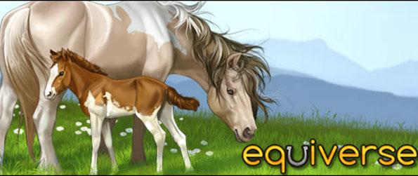 Equiverse  - Breed your very own unique horses in this free browser horse game.