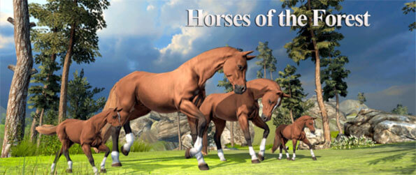 Horses of the Forest - Enjoy this innovative horse game that truly is unlike any other out there.