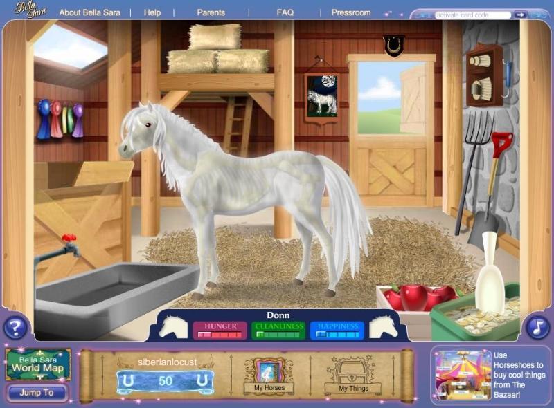 Bella Sara Pferde Spiele Online - Minecraft pferde spielen