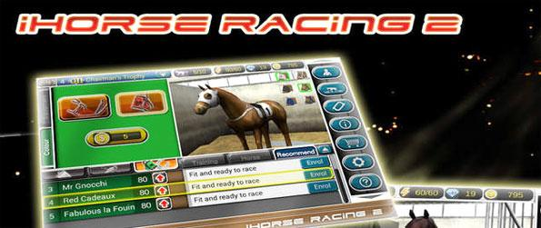 iHorse Racing 2 - Recruit 10 horses and train all of them to be winning horses in the leagues.