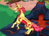 Fire pony in Pony Princess