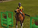 Failing on an Obstacle in Horse Show Jump Simulator 3D