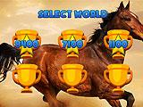 Horse Ride 3D World Selection Screen