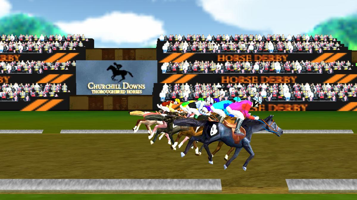 Virtual Horse Racing Champion - Horse Games Online