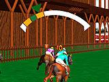 Horse Race Manager 3D Simple Game Controls