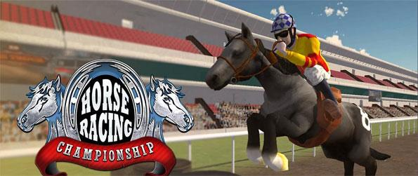 Horse Racing Championship - Play this fun filled and high intensity racing game and prove yourself to be the best horse rider ever.