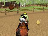 World Horse Racing 3D: first place