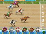 Horse Racing Finish Line