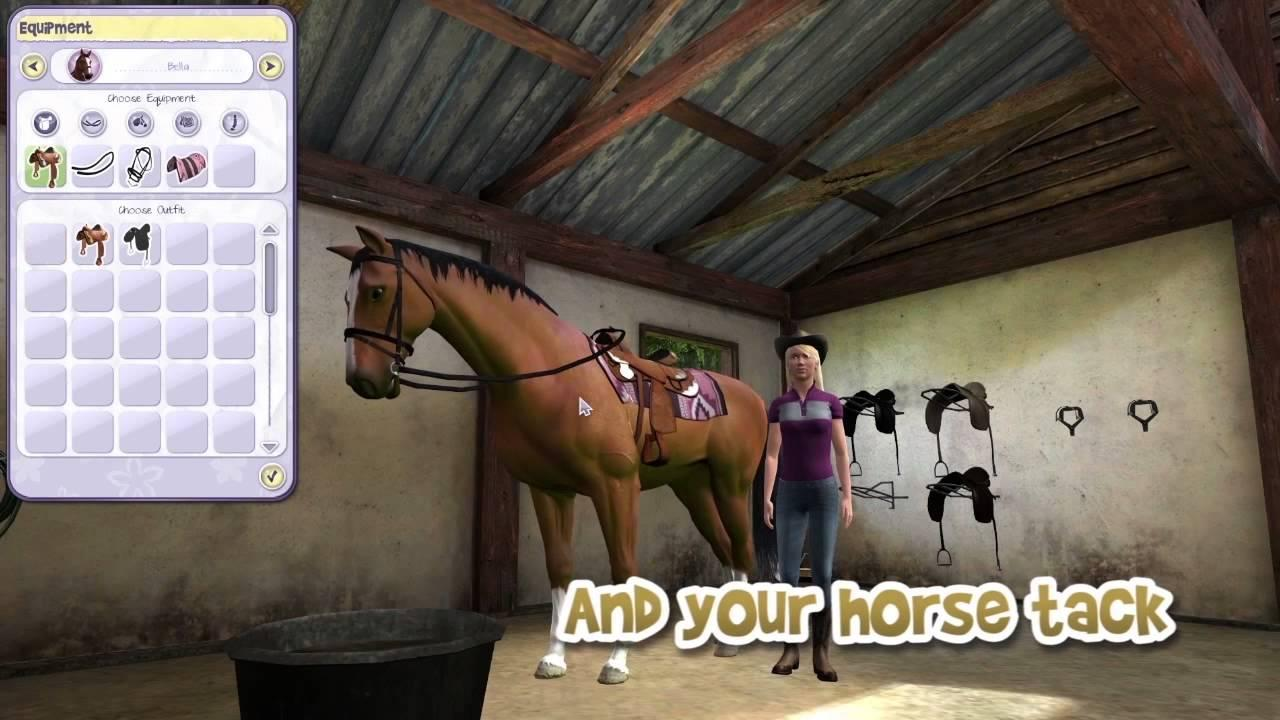 My PC horse games - YouTube