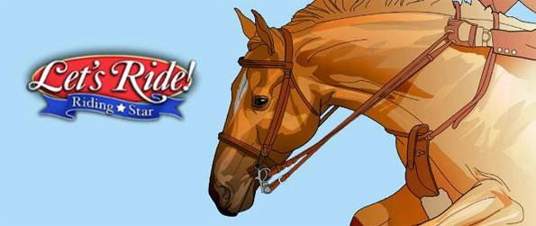 Let's Ride: Riding Star - Compete in various challenging equestrian competitions and tournaments or with your friends in Hot-Seat multiplayer events and see who's the better rider in Let's Ride: Riding Star!