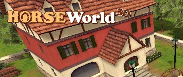 Horse World 3D Lite - Train your horse in the basics of walking, galloping and running.