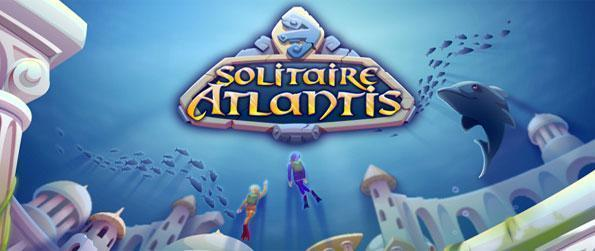 Solitaire Atlantis - Viaje bajo el mar con este increíble Facebook Solitaire Juego.