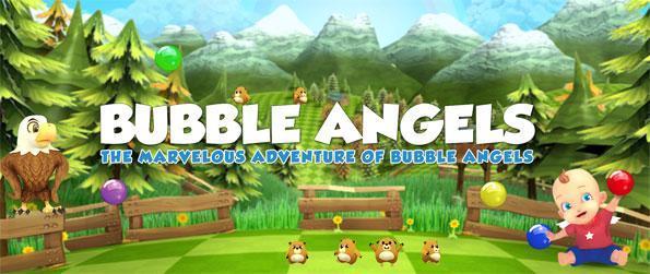 Bubble Angels - Únete a los ángeles como rescatan sus amigos en este nuevo Facebook Bubble Game.