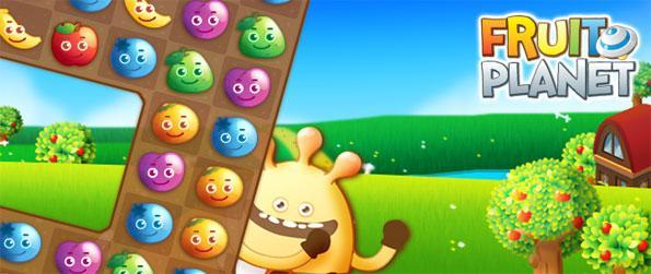 Fruit Planet - Disfrute gratis en Facebook un divertido y frutal partido de 3 juegos.