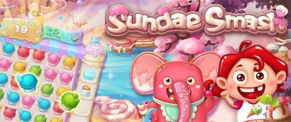 Sundae Smash - Disfrute de un partido de 3 juegos del helado de la diversión con temas con un toque dulce.