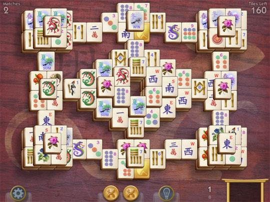 Towers Mahjong Fort Pattern