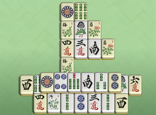 Ship in Redstone Mahjong
