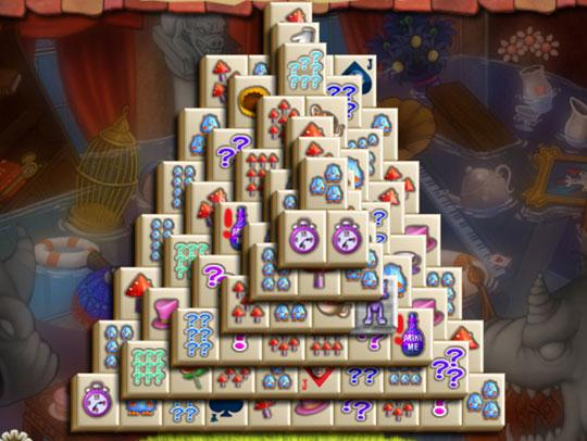 Pyramid in Alice's Magical Mahjong