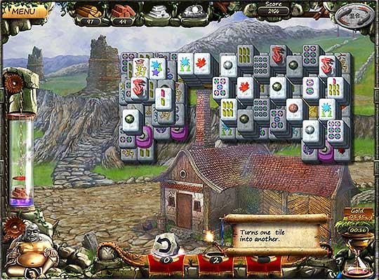 Building Blocks in Age of Mahjong
