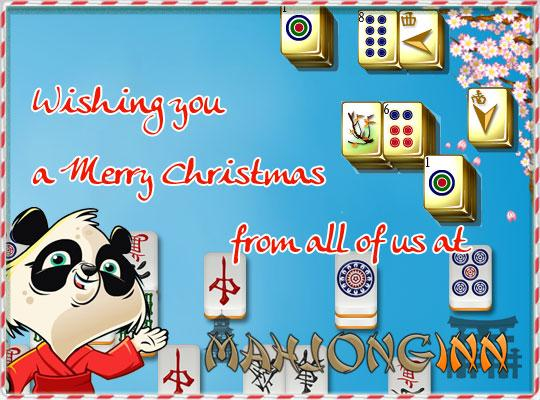Merry Christmas and a Happy New Year from MahjongInn