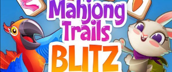 Mahjong Trails Blitz - Match similar tiles in Mahjong Trail Blitz.
