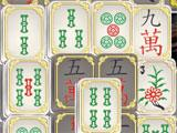Mahjong Forbidden Temple Bamboo Tiles