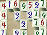 Mahjong Masters: The Amazing Architect number sum mini-game