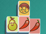 Mahjong by Banana & Co.: Food-themed tile set