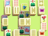 Mahjong Flower Garden challenging level