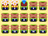 Mahjong Flower Garden level selection