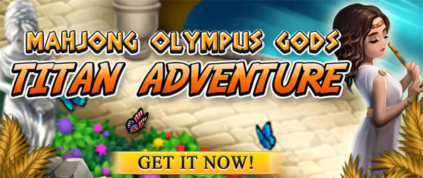 Mahjong Titans Adventure – Olympus Gods - Enter the realm of the titans in Mahjong Titans Adventure – Olympus Gods.