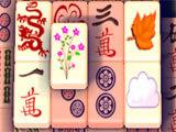 Mahjong Clash Flower Tile