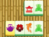 Golden tiles in Power Mahjong: The Tower