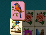 Mahjong Blossom Solitaire: Making a match