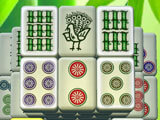 Doubleside Mahjong Zen Bamboo, Bird and Ball Tiles