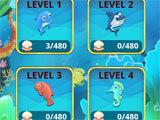 Mahjong Ocean level selection