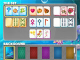 Mahjong Islands customization menu