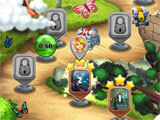 Mahjong Magic Lands: Fairy King's Quest level selection menu